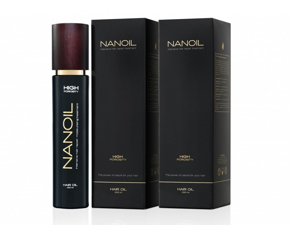 Nanoil effective hair oil