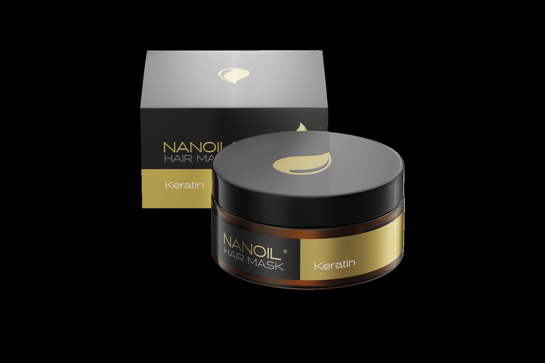 Meet the best keratin hair mask! Nanoil Keratin Hair Mask